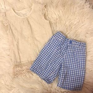 Tommy Hilfiger Bermuda Shorts & kidpik lace top